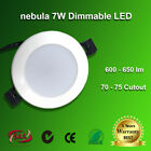 7W DIMMABLE LED DOWNLIGHT KIT 70MM / 75MM CUTOUT WARM/DAY WHITE IC-F SAA/RCM
