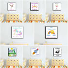 PERSONALISED KIDS BEDROOM CANVAS GIRLS BOYS. MANY SIZES/DESIGNS PLAYROOM DECOR