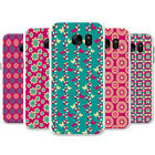 Butterfly & Flowers Repeating Patterns Hard Case Phone Cover for Motorola Phones