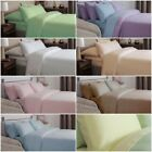 WINTER WARM Luxury 100% Brushed Cotton Flannelette Sheets Duvet Covers Fitted image