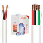 bulk audio cable - White Speaker Cable Pull Box CL2 In Wall Audio Wire 250ft 500ft 1000ft Bulk Lot