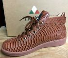 TRAVEL FOX MALIBU PATENT LEATHER SNAKE EMBOSSED MIDS w/BUCKLE COPPER 917602-008