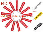 1-10Pcs Red Remove Before Flight Embroidered Luggage Bag Tag Keychain Keyring US