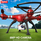 Syma X8HG 2.4GHZ 4CH RC QUADCOPTER ALTITUDE HOLD CAMERA DRONE WITH GYRO HEADLESS