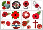 Poppy Remembrance Collection Nail Art - Temporary Tattoos Tattoo