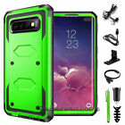 Hard Case Cover + Tempered Glass Screen Protector For SAMSUNG GALAXY S8/S9 Plus