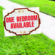 One Bedroom Available Apartment Real Estate Rent Custom Yard Coroplast Sign photo
