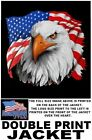 UNITED STATES AMERICA VETERAN AMERICAN PRIDE EAGLE FLAG PATRIOTIC USA JACKET 587