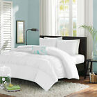 1 Piece Center Gathered Duvet Cover 1000 TC Egyptian Cotton All Sizes & Colors