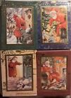 Christmas Cards Postcard Gift New Year Wishes Collection Only One Card Uk Seller
