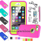 Shockproof Armor Hybrid Rugged Rubber Hard Case Cover For Apple Iphone 5/5s/se