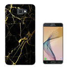 2745 Broken Glass Leaking Gold Case Cover For HTC Samsung LG Alcatel Series