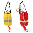 Buoyant Rescue Line Throw Bag with Reflective Strap for Kayak Canoe 16m 21m