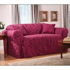 Sure Fit Scroll Sofa Cover