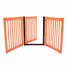 Dynamic Accents Amish Handcrafted Highlander 3-Panel Walk Through Pet Pet Gate