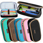 Homecube Pencil Case Canvas Cosmetic Makeup Bag Travel Schoo