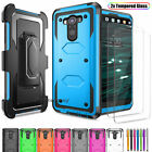 For LG V10 Dual Layer Armor Shockpoof Hybrid PC+Rubber Rugged Phone Case Cover