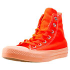 Converse Chuck Taylor All Star Ii Hi Womens Orange Walking Trainers New Style