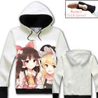 Anime Game TouHou Project Unisex Jacket Cosplay Sweatshirts Hoodie Fashion Coat