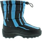 Cold Front Boys' Turquoise/Black Print Fun Pack Boots Size 13