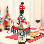Christmas Wine Bottle Cover Clothes Xmas Santa Reindeer Table Bottle TXSU