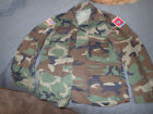 BDU Woodland Camo Camoflauge Blouses Jackets Multiple Sizes - Exc. Condition