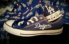 Los Angeles Dodgers Blue Converse Men's or Women's Sneakers on Ebay
