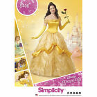 Simplicity Pattern #8406 Misses Disney Princess Belle Costume Beauty & The Beast