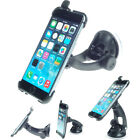 Apple iPhone window windscreen suction dash car mount with passive phone holder
