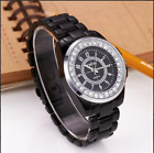 New Mens Stainless Steel Fashion Simple Style Round Dial Wristwatch
