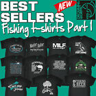 Men's Fishing T Shirts Love Fish The perfect gift fathers day birthday T Shirt 1