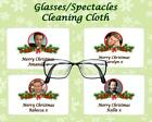 CHRISTMAS GLASSES CLEANING CLOTH HOLLYWOOD ACTOR SECRET SANTA/STOCKING GIFT
