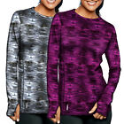 New Champion Duofold Women's Brushed Back Gym Yoga Fitness Crew Top MSRP $39.99