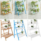 3 Tier Plant Stand Flower Pot Shelf Garden Holder Storage Display Outdoor Bamboo