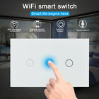 Smart WIFI Wall Switch Remote Voice Controller App Timer Fit Alexa Smart Phone