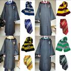 Hot Harry Potter Robe Wand Krawatte Set Umhang Party Cosplay Custom S...