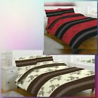 ANNALIESE PRINTED POLYCOTTON DUVET QUILT COVER WITH PILLOW CASE
