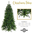 Premier Artificial Christmas Tree + stand - Heartwood Green Spruce | 5ft 6ft 7ft
