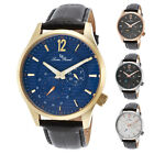 Lucien Piccard Burano Silver Mens Dress Watch - Choose color