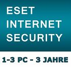 ESET Internet Security 2017/2018 - Lizenz 1-3 PC / 3 Jahre