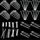 Lots 100Pcs Silver Plated Ball Head Eye Pins Jewelry Finding DIY 20mm