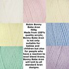 Robin Bonny Babe Aran 400g (max postage £2.60 any number of balls)