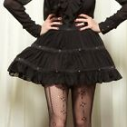 LIP SERVICE - STEP IN TIME WESTING MANOR CHIFFON HOOP SKIRT STEAMPUNK