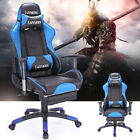 Racing Chair Adjustable Leather Gaming Chair High Back Recline Office Chair