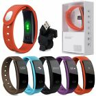 Smart Bluetooth Blood Pressure Heart Rate Monitor Fitness Tracker Watch Straps