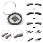3D sexy Magnetic False Eyelashes Reusable Extensions Long Curved Eye Lashes hot~