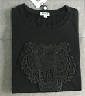 New Hot Men Women Embroidere Kenzo Paris Tiger Logo Sweater black T-Shirt S--XXL