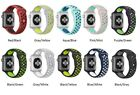 Replacement Silicone Sports Bracelet Band for Apple Watch Nike+ iWatch Series2/3