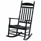 Solid Turned Wood Porch Rocker by International Concepts