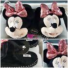 Disney Sequins Minnie Mouse 3D Slippers Gift S M L Primark UK 3-8 BNWT